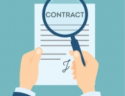 Contract analyzing with magnifyer. Preparation and making decision about contract. Investigate fraud and risk.