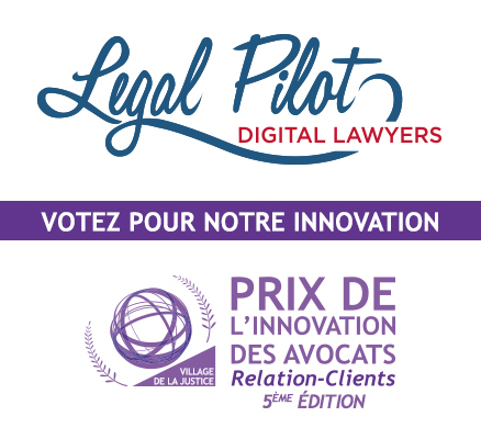Legal Pilot: votez pour nous!