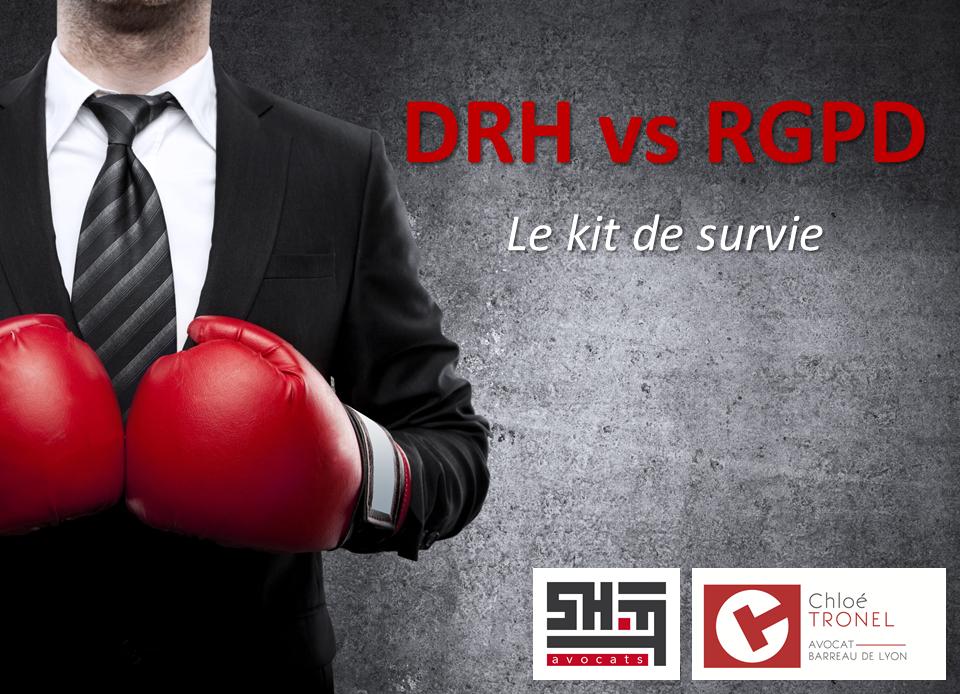 La matinale du 27 septembre: Kit de survie du DRH face au RGPD